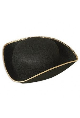 Tricorn Colonial Hat
