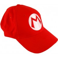 Super Mario Bros Costume Red Hat
