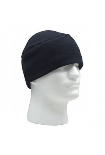 Polar Fleece Watch Cap Black