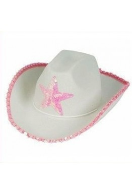 Cowgirl Hat With Star